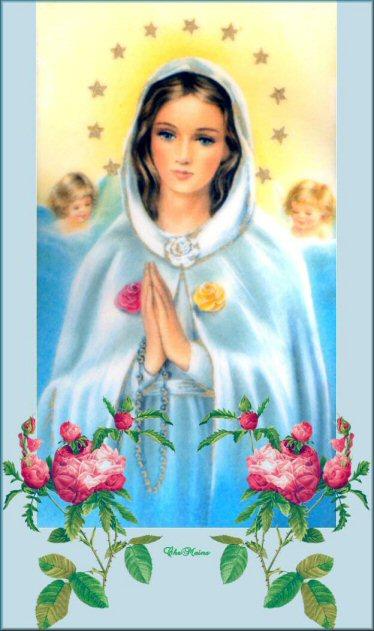 Assez Prière à la Vierge Marie- pour être protéger des calamités  PZ72