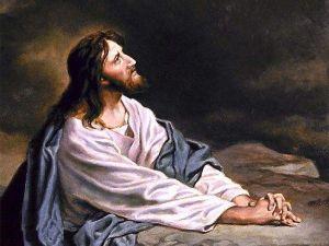 jésus souffrant