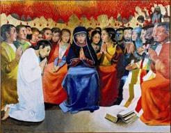 Pentecôte Arcabas-