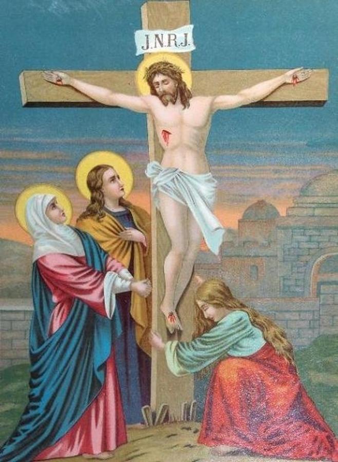 Christ en croix 2 messages proph 233 ties par les saints et les