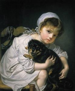 1310963-Jean-Baptiste_Greuze_Une_jeune_enfant_qui_joue_avec_un_chien
