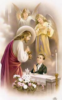 Enseignement de Notre Seigneur concernant l'Eucharistie…d'après les écrits de Maria Valtorta.. Communion