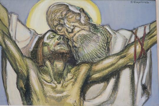 jesus-sur-la-croix---jean-georges-cornelius