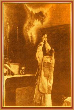 Eucharistie - Gegenwart Jesu bei der Wandlung - g