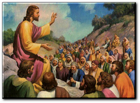 """fille oui - La Fille du Oui: Nous ne devons pas penser, """"ce sera un mauvais pape!"""" - Page 3 Jesus-preche"""