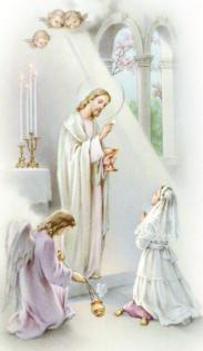 Enseignement de Notre Seigneur concernant l'Eucharistie…d'après les écrits de Maria Valtorta.. Communion1969