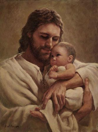 jesus com bebe