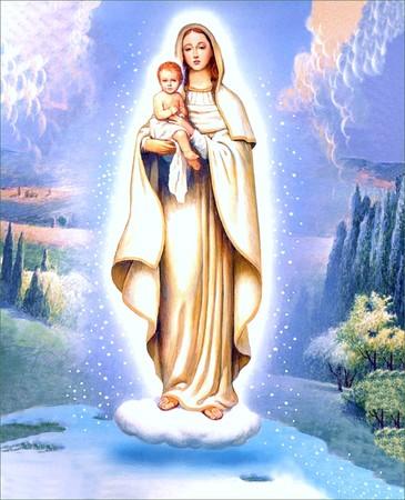 Mon hommage personnel à la Bienheureuse et Sainte Vierge Marie... - Page 3 Marie7_p