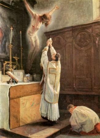 Qu'est-ce que la messe ? Padre Pio et le Saint Sacrifice de la messe Messe-jesus_p