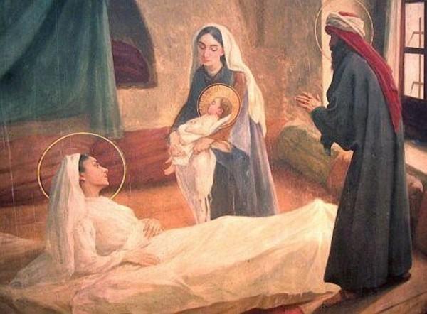 naissance de marie