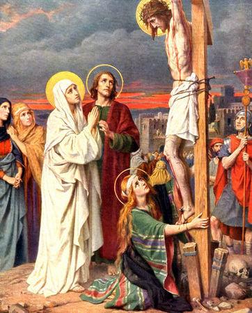 esprit malin pied de la croix