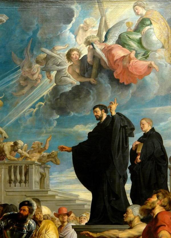 Glory of St Francis Xavier by Rubens (1617)