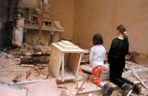 Chers frères et soeurs, chrétiens d'Irak... Chretiens