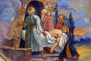 jesus es colocadoen-el-sepulcro