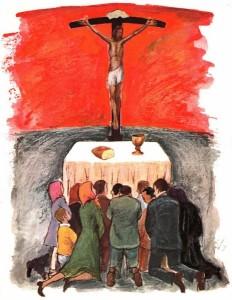 Fideles-adorant-le-Christ-a-la-messe-463x600