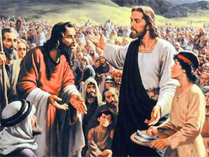Jésus à Maria Valtorta : *les Dix Commandements de Dieu…Pour notre temps * Jesus-loaves-and-fishes
