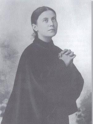 St Gemma praying