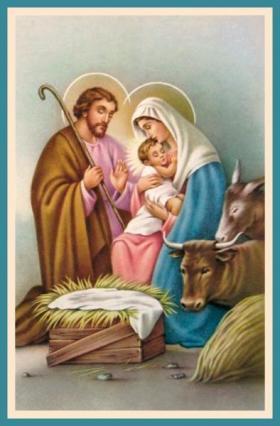 Pour Noël : Certains ont oublié de faire un cadeau à Jésus ! Holy-family-joseph