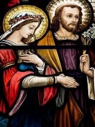 sainte famille - noces marie joseph
