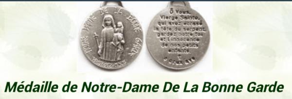 MÉDAILLE DE NOTRE DAME DE LA BONNE GARDE-2