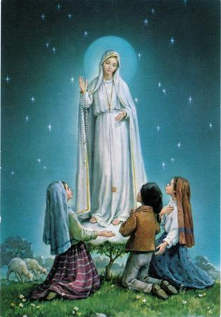 Prions ensemble l'ange de la paix, comme Il nous l'a demandé à Fatima Marie-fatima
