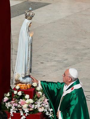 Fatima-statue PAPE