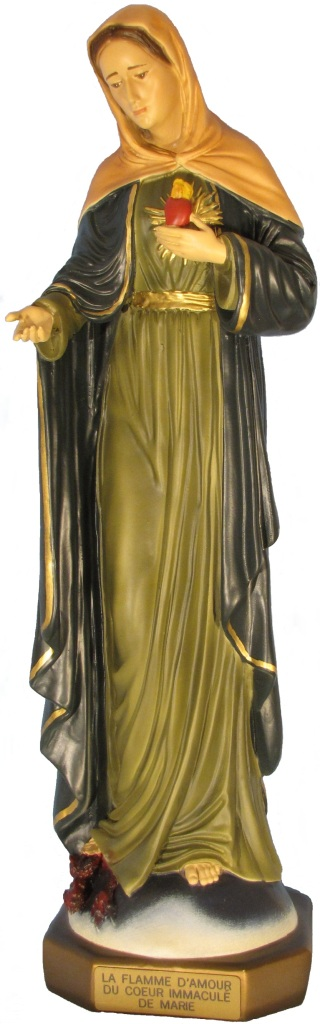 Statue-Flamme