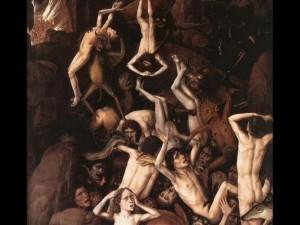Vision de l'Enfer donnée à Sainte Faustine Faustineenfer