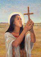 Sainte Kateri Tekakwitha, première sainte Amérindienne Kateri-2