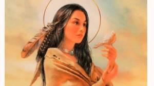 Sainte Kateri Tekakwitha, première sainte Amérindienne Kateri