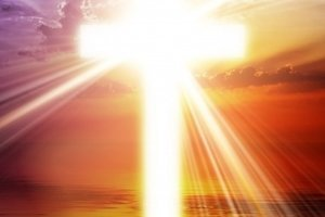 croix lumineuse