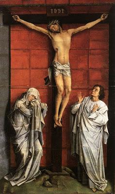 crucifixion avec marie et st jean