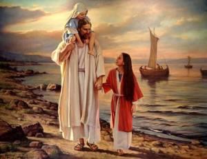jésus et enfants