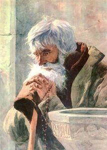 oraison-Fałat_Old_man_praying