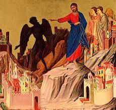 jésus tenté par démon