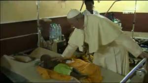 pape avec enfant malade