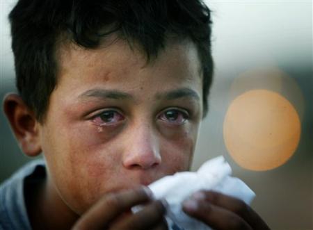 pleure enfant