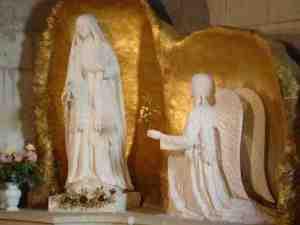 vierge marie ile bouchard