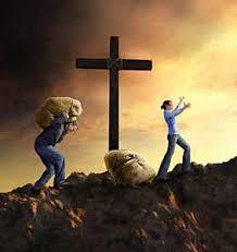 péché au pied de la croix