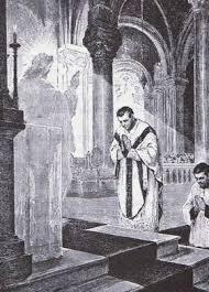 prêtre messe jésus