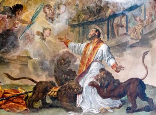 Les martyrs de l'Eglise primitive - À lire ! Merci mon Dieu de pouvoir encore professer notre foi ♥ - Page 2 Saint-ignace-dantioche