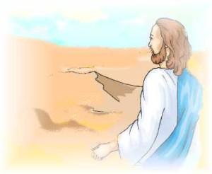 Jésus-au-désert-300x246