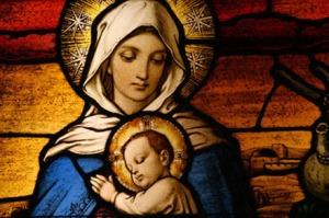 marie-vitrail-Jesus-Marie