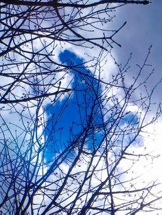 dory tan-vierge marie apparu nuage à marmora-ontario