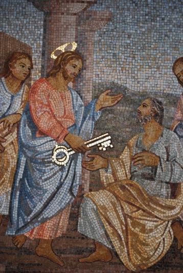 Pierre et Jésus