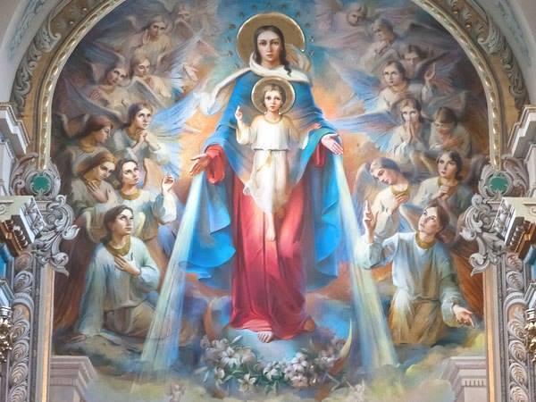 marie jésus anges