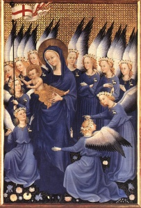anges marie-virgin&angels1395 maitre inconnu