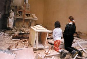 église profanée pillée
