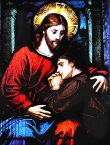 Juillet : Mois du Précieux Sang de Notre Seigneur Jésus-Christ... Jesus-confession