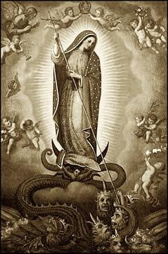 marie écrase satan
